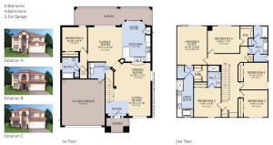 Windsor Hills Brentwood Floorplan