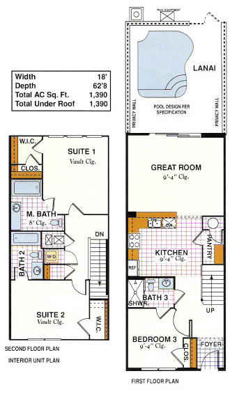Townhome Floorplans Buy Windsor Hills