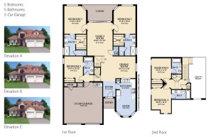 Windsor Hills Seville Floorplan