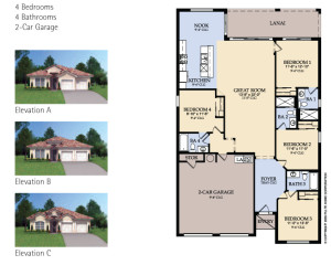 Windsor Hills Sheldon Floorplan