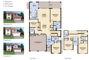 Windsor Hills Spencer Floorplan
